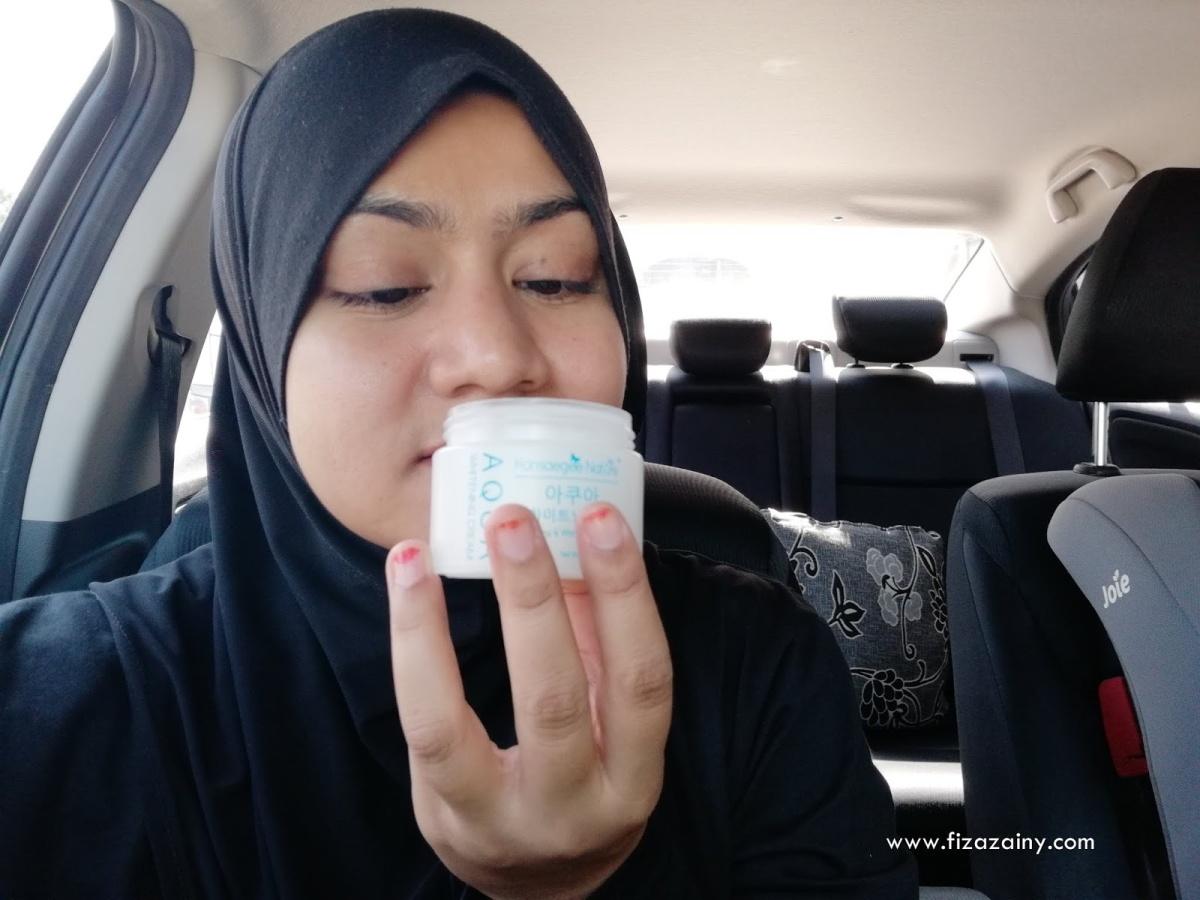 Kesan Selepas Penggunaan Aqua Whitening Cream Hansaegee Nature